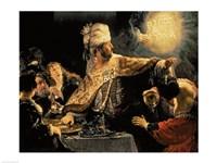 Belshazzar's Feast c.1636 Fine Art Print