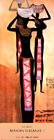 African Elegance I Fine Art Print
