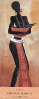 African Elegance II Fine Art Print