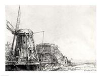 The Mill, 1641 Fine Art Print