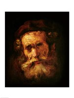 A Rabbi Fine Art Print