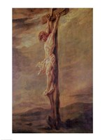 Christ on the Cross, c.1646 Fine Art Print