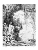 The Great Raising of Lazarus Fine Art Print