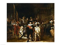 The Nightwatch Fine Art Print