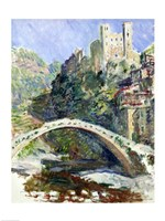 The Castle of Dolceacqua, 1884 Fine Art Print