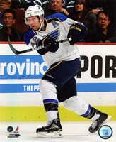 David Backes 2010-11 Action Fine Art Print