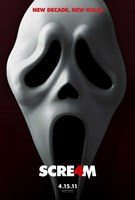 Scream 4 Framed Print