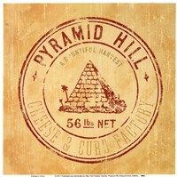 Pyramid Hill Framed Print