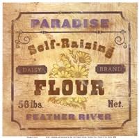 Paradise Flour Framed Print