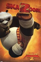 Kung Fu Panda 2 - Panda Bear Framed Print