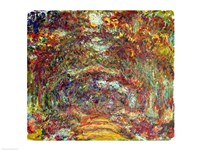 The Rose Path, Giverny, 1920-22 Fine Art Print