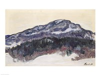 Mount Kolsaas, Norway, 1895 Fine Art Print