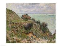 The Customs Officers' Hut at Pourville, 1882 Fine Art Print
