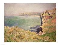 Cliff at Varengeville, 1882 Fine Art Print