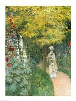 Rose Garden, 1876 Fine Art Print