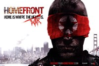 Homefront (Blindfold) Wall Poster