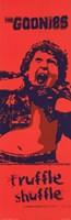Goonies - Truffle Shuffle Framed Print