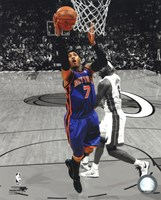 Carmelo Anthony 2010-11 Spotlight Action Fine Art Print