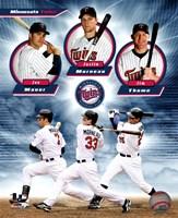 Minnesota Twins 2011 Triple Play Composite Fine Art Print