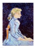 Adeline Ravoux, 1890 Fine Art Print