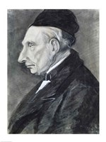 Portrait of the Artist's Grandfather, 1881 Fine Art Print