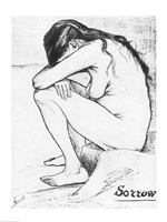 Sorrow, 1882 Fine Art Print