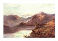 A Highland Loch Fine Art Print