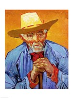 Portrait of Patience Escalier, 1888 Fine Art Print