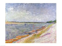 Moored Boats, 1887 Fine Art Print