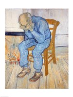 Old Man in Sorrow Fine Art Print
