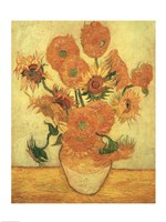 Sunflowers, 1889 Fine Art Print