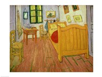 The Bedroom, 1888 Fine Art Print