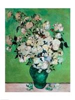 A Vase of Roses, 1890 Fine Art Print
