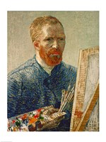 Self Portrait as an Artist, 1888 Fine Art Print