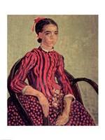 La Mousme, 1888 Fine Art Print