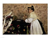 Portrait of Hortense Valpincon as a Child, 1869 Fine Art Print