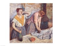 The Laundresses, c.1884 Fine Art Print