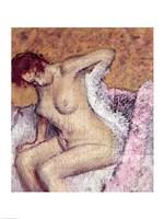 After the Bath Fine Art Print