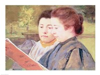 Women Reading Fine Art Print