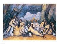The Large Bathers Fine Art Print
