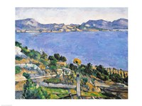 L'Estaque, View of the Bay of Marseilles Fine Art Print