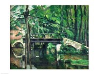 The Bridge at Maincy Fine Art Print