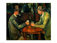 The Card Players 1890-95 Fine Art Print