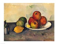 Still life with Apples, c.1890 Framed Print