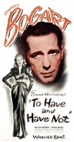 To Have & Have Not (movie poster) Wall Poster
