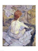 Woman at her Toilet, 1896 Fine Art Print