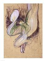Study for Loie Fuller Fine Art Print