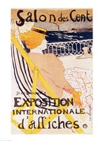Poster advertising the 'Exposition Internationale d'Affiches', Paris, c.1896 Fine Art Print