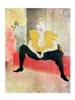 La Clowness Looks Around, Madamoiselle Cha-U-Kao Fine Art Print