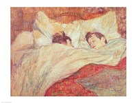 The Bed Fine Art Print